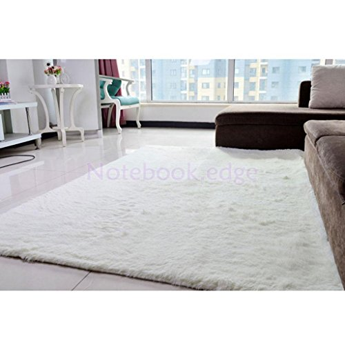 Shaggy Fluffy Area Rug Anti-Skid Room Carpet Home Bedroom Floor Mat - Shopping Near Pittsburgh
