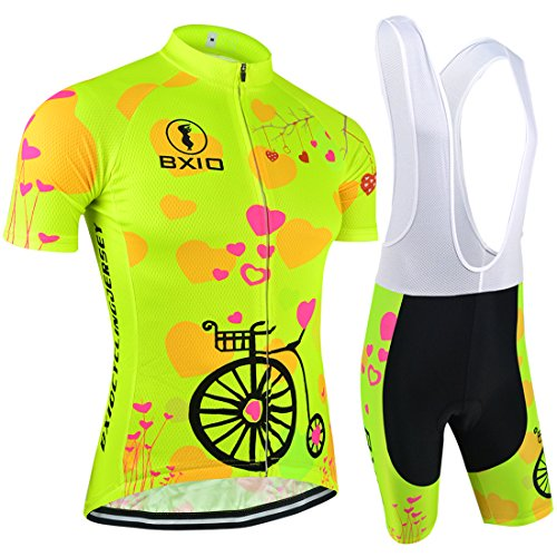 Women Cycling Sets Brand Bicycle Short Sleeve Road Bike Clothing Pro Team Uniform Roupas De Ciclismo Equipacion Sport Suit (S)