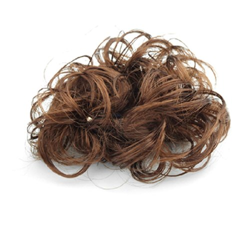 Uxcell Synthetic Bridal Hairpiece Brown