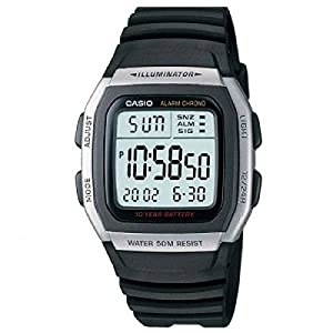 Casio Reloj para Hombre W-96H-1AVES 51TXSXDIkXL