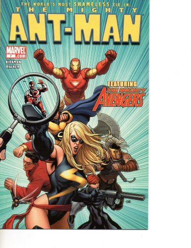 with Ant-Man Comic Books design