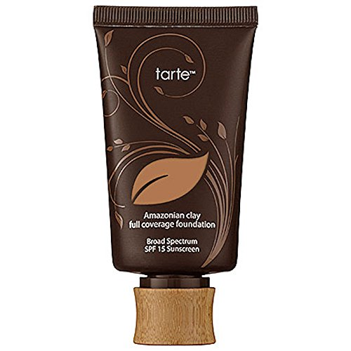 Tarte Amazonian Clay 12 Hour Full Coverage Foundation SPF 15, No. Tan Sand, 1.7 Ounce