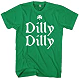 Mixtbrand Mens Dilly Dilly ST. Patricks Day & Gold Crown T-Shirt