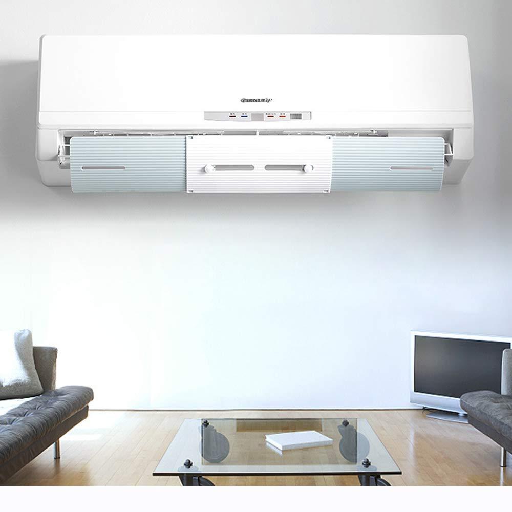 deflettore anti soffiatura diretta regolabile deflettore aria condizionata deflettore vento freddo Deflettore retraibile per climatizzatore Azzurro deflettore telescopico per casa//ufficio
