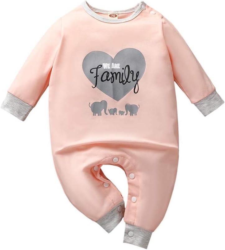Lettering Merry Christmas Long Sleeve Organic Baby Onesie Romper Set for Newborn Boys Girls