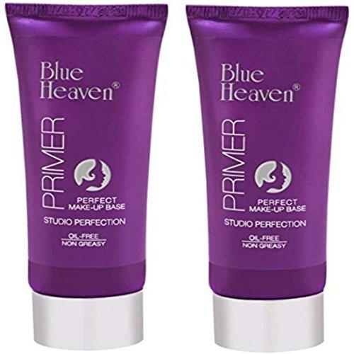 - Blue Heaven Studio Perfection Primer, Set of 2 Primer - 60 g (Transparent)