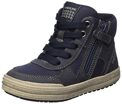 Elvis greyc0661 B navy Hautes Blau Garçon Sneakers Geox fzdCwqz