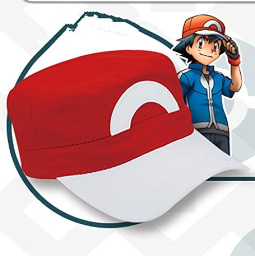 Pokemon XY Ash Ketchum Trainer Hat Cosplay - Ash From Pokemon Costumes