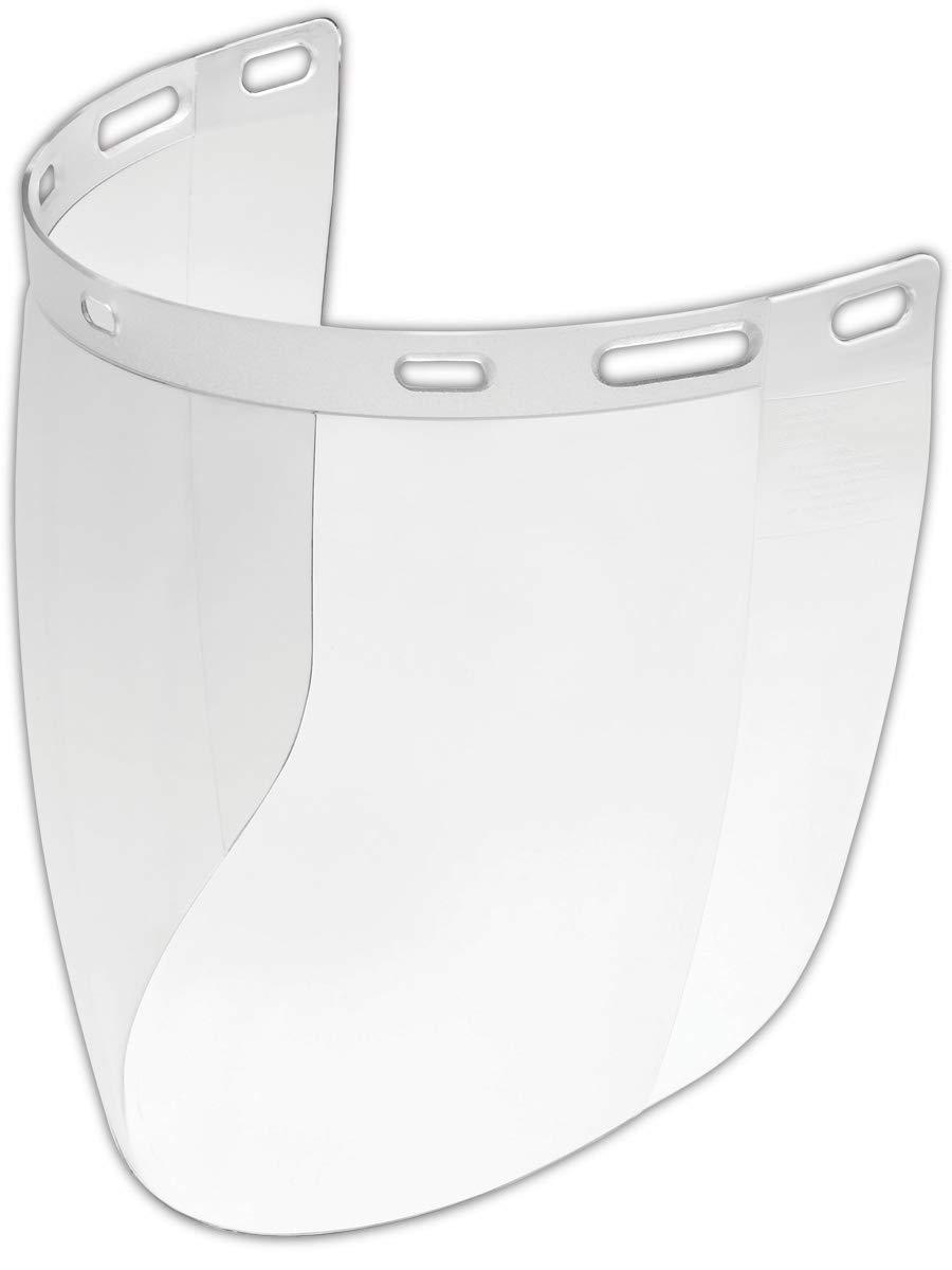 Gateway 675 Safety Venom Faceshield, Standard, Clear (Pack of 10) by Gateway