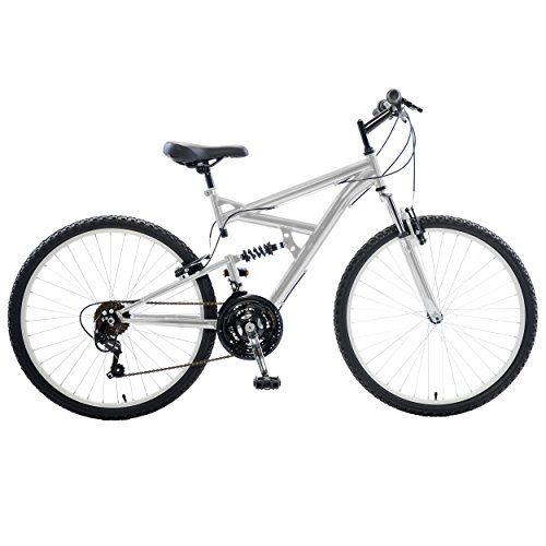 Cycle Force Mens Dual Suspension Mountain Bike