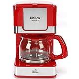 Cafeteira PH16 Inox, 550W, 110V, Philco, 53901023, Vermelho