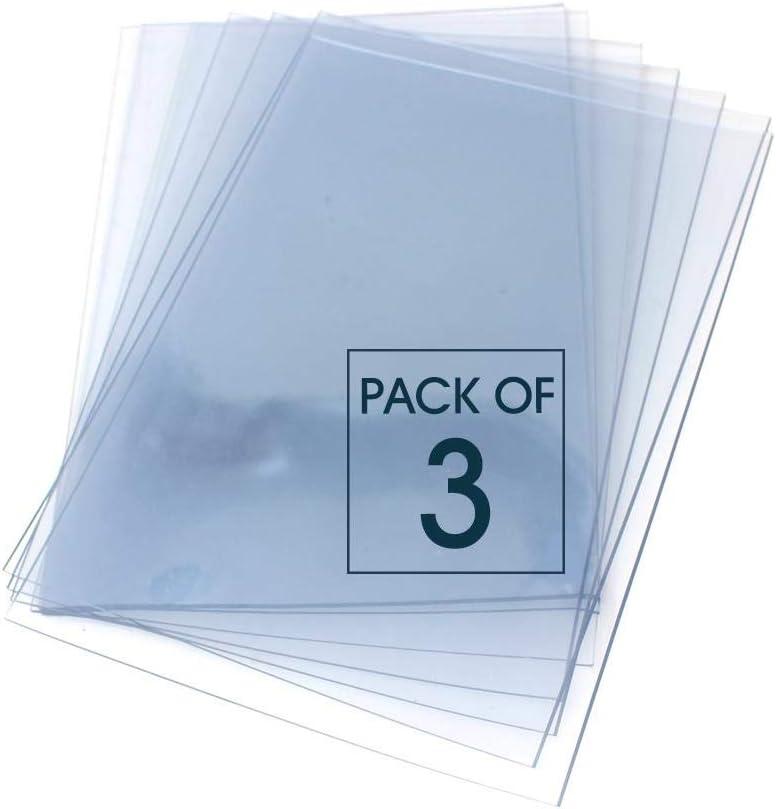 Artway - Planchas de polímero para linograbado - Transparente - A3 - Pack de 3