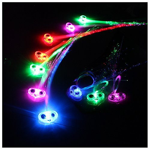 Fiber Optic Led Hair Lights in US - 8