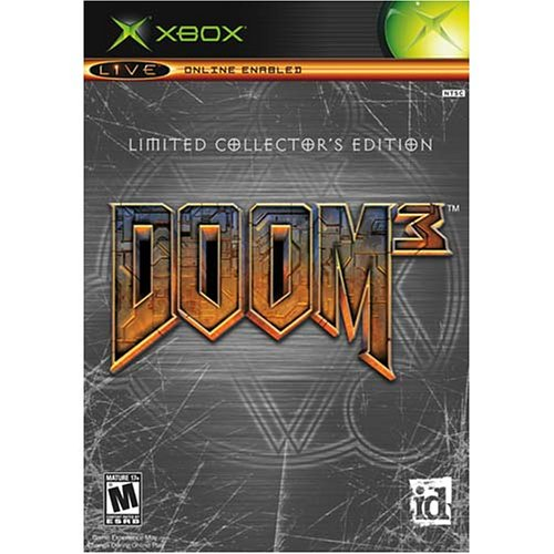Doom 3 Limited Collector S Edition Xbox Collector S Doom 3 Collector S Edition Game Video Games
