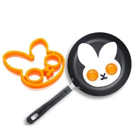 1 huevo de silicona moldes de huevo de desayuno moldes para tortitas huevos moldes de cocina