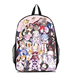 Dreamcosplay Anime Re:Life in a different world from zero Backpack Book Bag