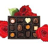Health & Personal Care : One Dozen Godiva Chocolates and One Dozen Red Rose Bouquet