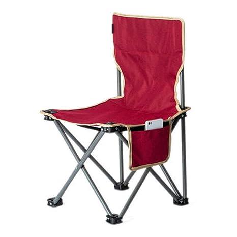 Silla plegable Portátil Plegable Mini Silla Ligero Camping ...