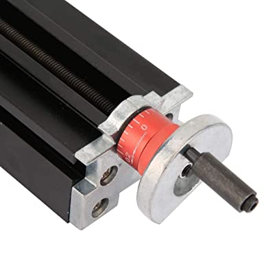 Metal Cross Slide 200mm Metal Cross Slide Block Z010M for Lathe X-Axis Z-Axis and Y-Axis Machining 23 x 5 x 5cm