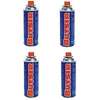 Cartuchos de gas de 227gr - pack de 4 cartuchos - Butsir