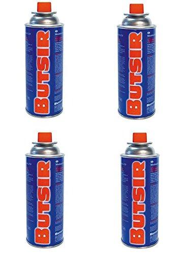 Cartuchos de gas de 227gr - pack de 4 cartuchos - Butsir S. L.