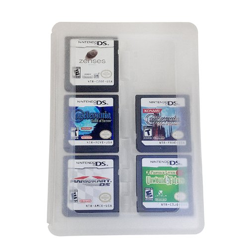 - HDE 24-in-1 Game Card Travel Case Protective Storage Holder Organizer for Nintendo 3DS and DS Cartridges
