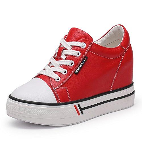 otoño zapatos de los deportes/ zapatos altos de mujer/ calzado alto de correa con los estudiantes en el profundo C
