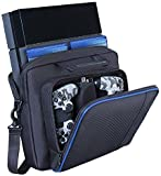 PS4 Carrying Case Travel Storage PlayStation Carrying Case Protective Shoulder Bag Handbag for PlayStation PS4,Console and Accessories Review