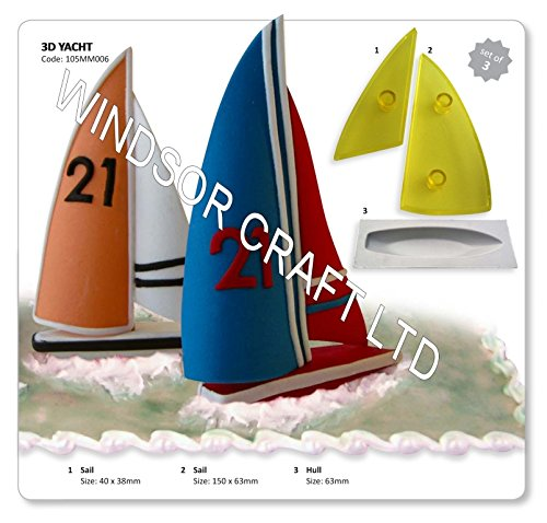 JEM 3D Yacht, Set of 3