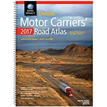 Rand McNally 2017 Deluxe Motor Carriers' Road Atlas (Rand Mcnally Motor Carriers' Road Atlas Deluxe Edition)