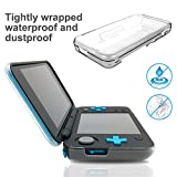 Fyoung Anti-Scratch Hard Case for NEW Nintendo 2DS XL,Crystal Clear Case for NEW Nintendo 2DS XL