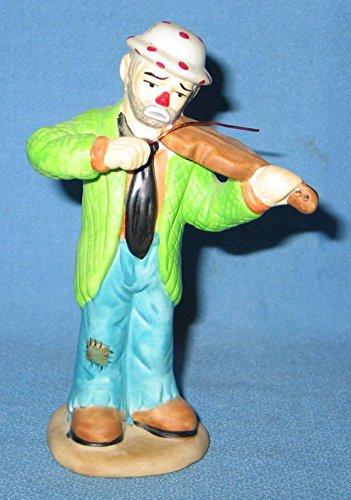 "Flambro Emmett Kelly Jr. ""Playing Violin"" Figurine"