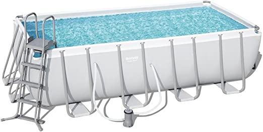 Piscina C/Marco Bestway 56670 Power Steel 488 x 244 x 122h: Amazon ...