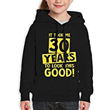 It Took 30 Years To Look This Good Teen's Pullover Hoodies Cotton Youth Children Sweatshirt For Girls Boys