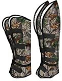 Showman Real Oak Print Shipping Boots - Set of Four