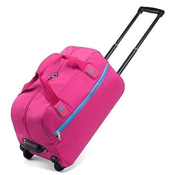 Maleta De Viaje Ultraligera Para Mujer Con Carrito De Viaje Impermeable - Carro Para Equipaje De