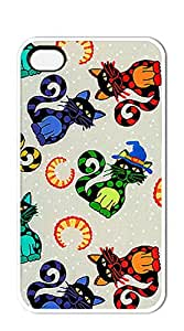 NBcase Cat Circus hard PC iphone 4 cases for guys with girls