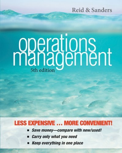 operations and supply chain management 8th edition russell pdf