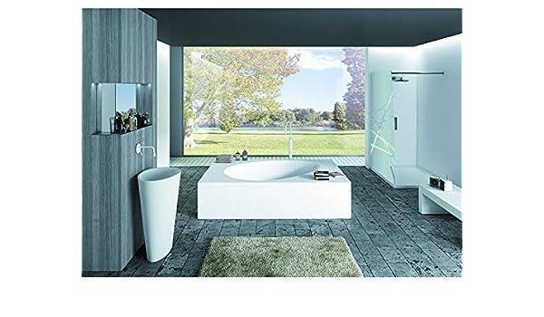 Mastella Design bathtubs AKI angular bathtub VA06: Amazon.es: Hogar