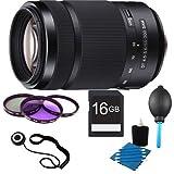 Sony 55-300mm F/4.5-5.6 DT A-Mount Zoom Lens for Sony Alpha Digital SLR Cameras