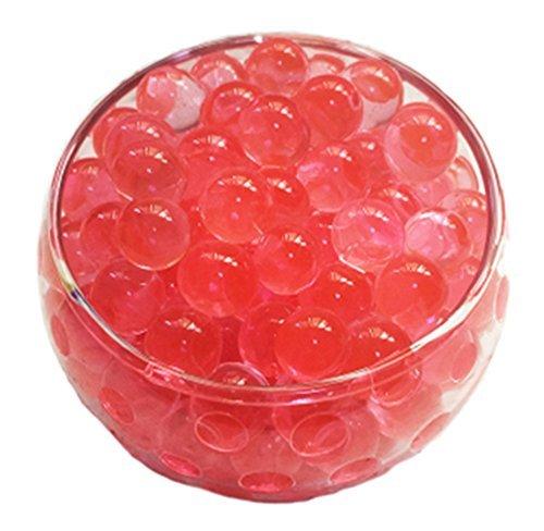 Huathy Crystal Soil Water Beads, 2oz/57g, Aqua Gel Ball for Wedding Flower Planting Mud Vase Decor Filler
