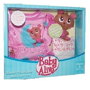 Baby Alive Doll Sweet Slumbers Bedtime Set Amazon Co Uk Toys Games