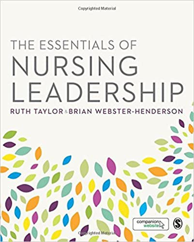 Book The Essentials of Nursing Leadership