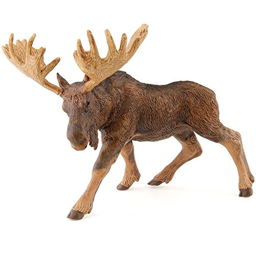 Moose Line (Papo Standing North American Moose Toy Figure)