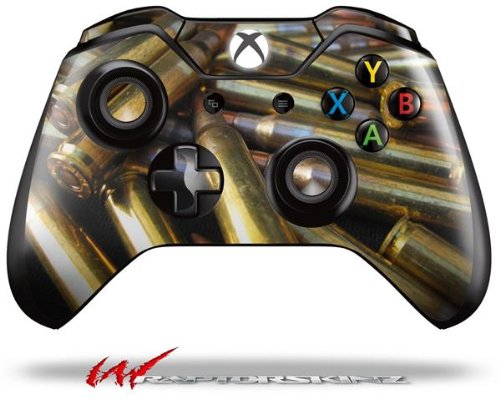 Bullets - Decal Style Skin fits Microsoft XBOX One Wireless Controller (CONTROLLER NOT INCLUDED) (Controler Xbox Stickers One)