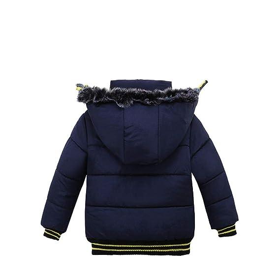 Yanhoo Kinderkleidung, Unisex Baby Kleidung Winter Kinder Jungen Mädchen  Langarm Kapuzen Baumwolle Patchwork Baumwolljacke Warme Sweatjacke  Winterjacke ... edf48b8cd7