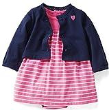 Best Carter's Baby Crib Sheets - Carter's Baby Girls' 2 Piece Print Dress Set Review