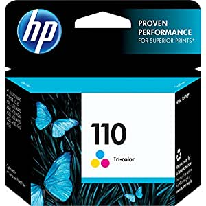 3 PACK HP 110 CB304AN Tri-Color Ink Cartridge