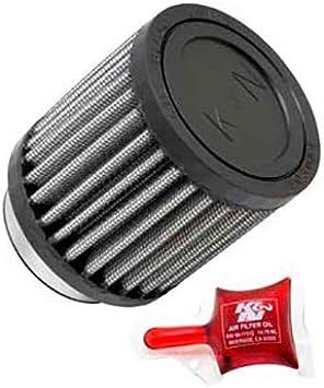 K/&N RU-2740 Universal Round Tapered Rubber Air Filter