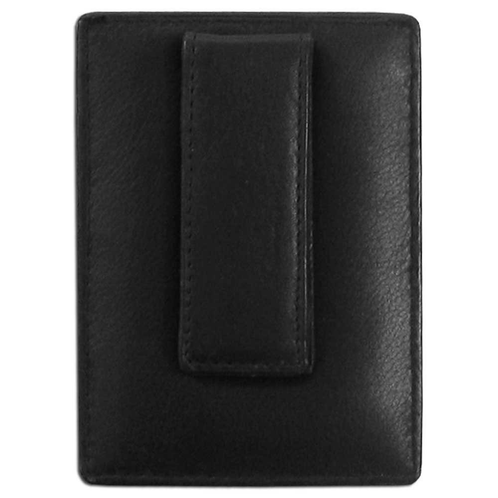 NCAA South Carolina Fighting Gamecocks Leather Money Clip//Cardholder Wallet